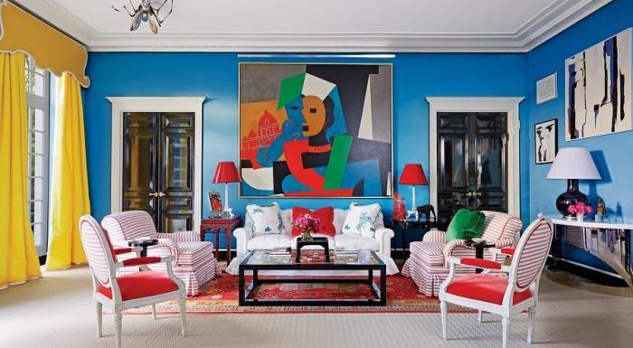 A Influência das Cores no Design de Interiores