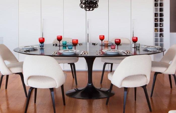 Mesa de Jantar: madeira, metal ou vidro?