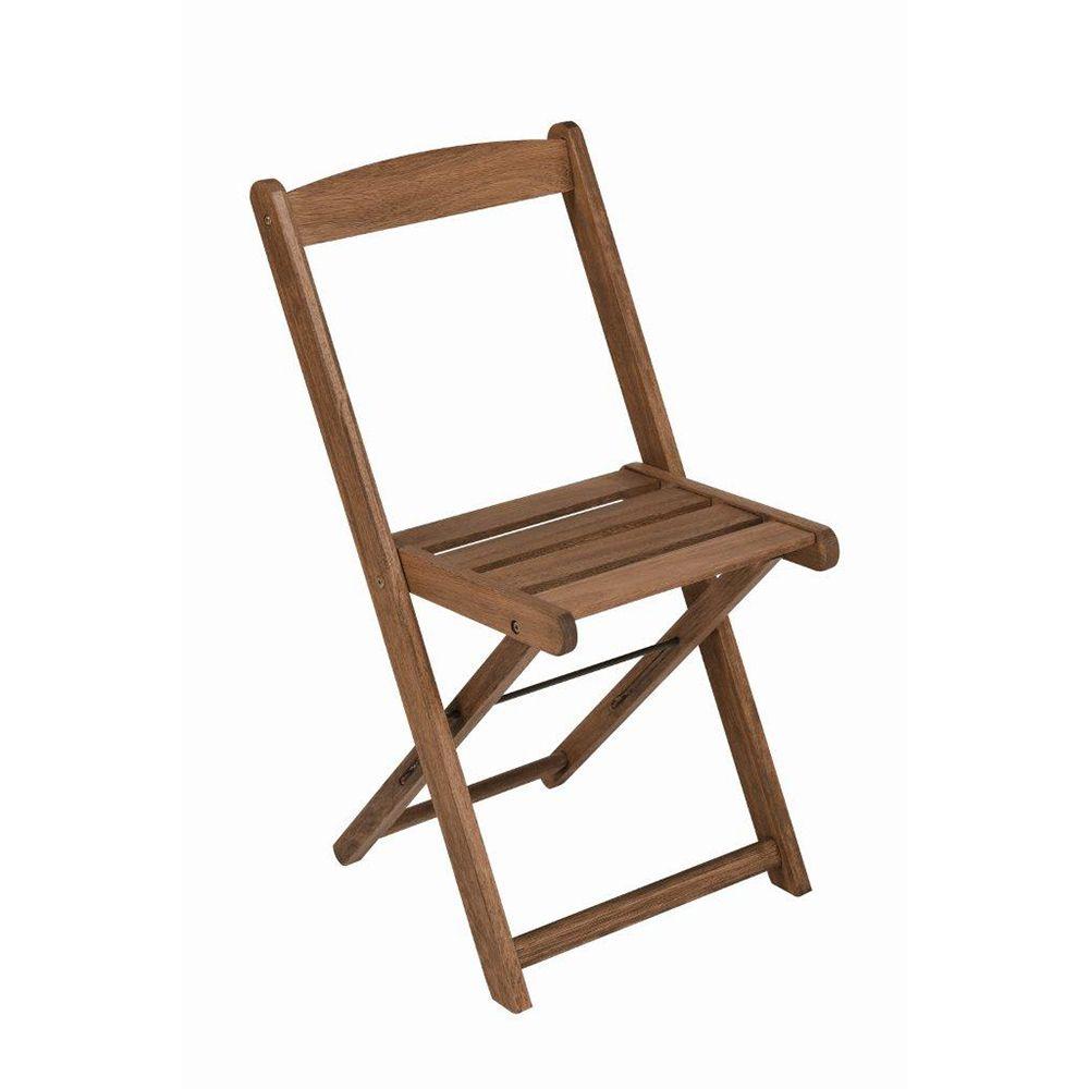 Cadeira Dobrável Veneza Madeira Maciça Mestra Móveis Linha Madeira