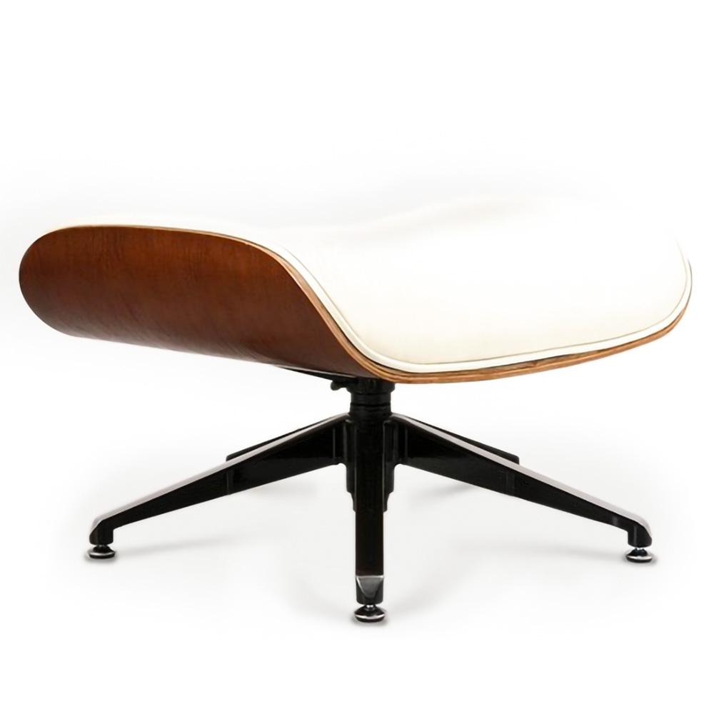 Puff Charles Eames em Couro Natural ou Ecológico 2