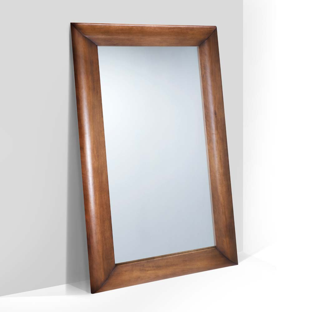 Moldura com Espelho Amistad Madeira Maciça Design Clássico Avi Móveis