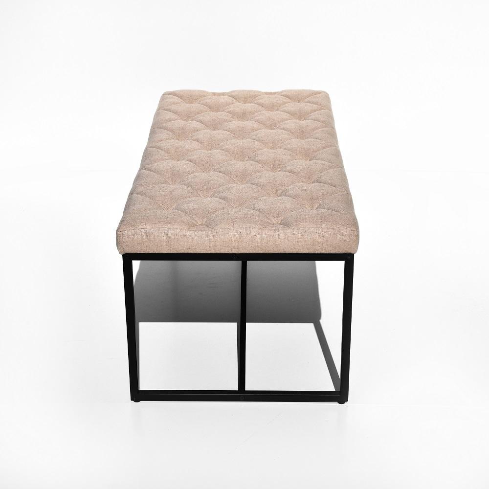 Banco Industrial Botonê Base Metal Tremarin Design by Studio Marko20