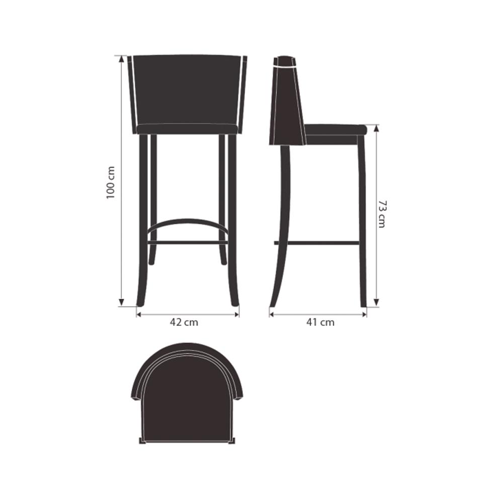 Banqueta Belair Fetiche Design Studio