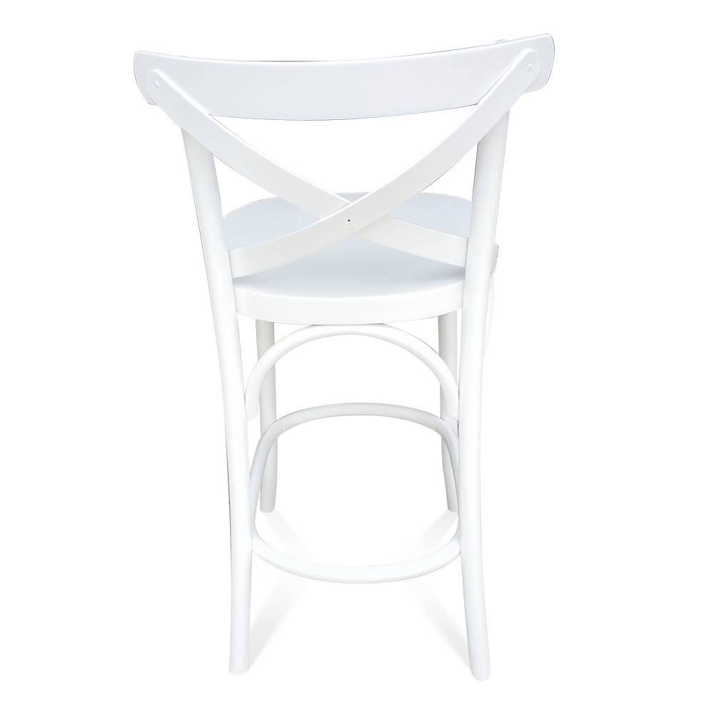 Banqueta X de Design New York Laca Branca
