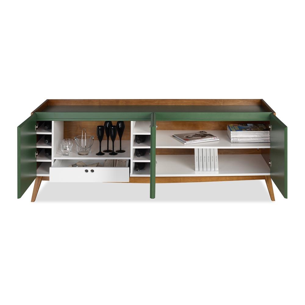 Buffet Novita Multilaminado de Madeira Máxima Móveis Design by Asa Design