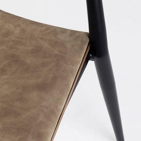 Cadeira Asa Estrutura em Aço Carbono Design by Studio Artesian