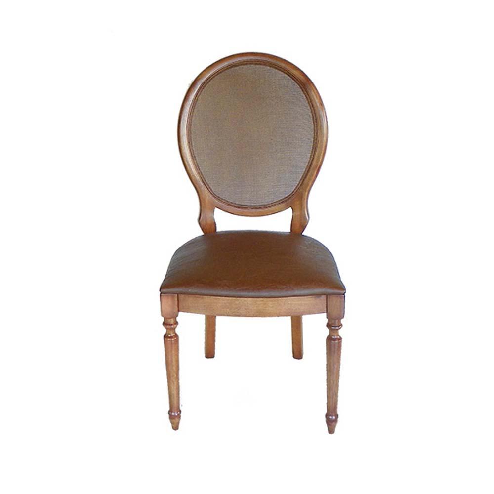 Cadeira Aurora Madeira Maciça Design Clássico Avi Móveis
