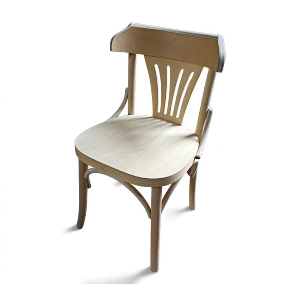 Cadeira Berlim de Design em Madeira Maciça com Pinturas Personalizáveis