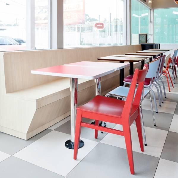 Cadeira Bob's Estrutura Madeira Maciça Design by Studio Artesian