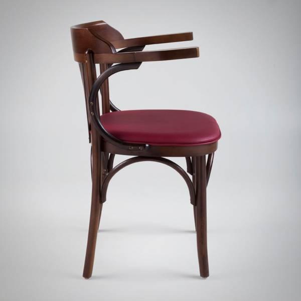 Cadeira com Braço Arco Estrutura Madeira Maciça Design by Studio Artesian