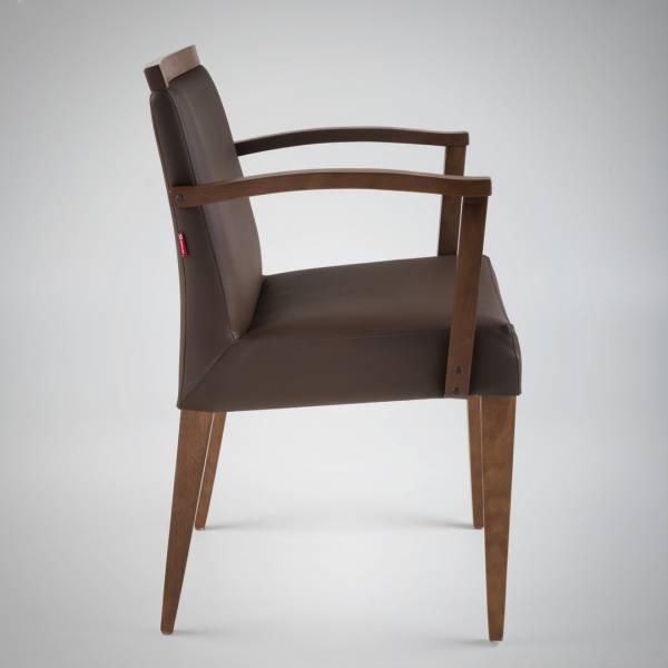 Cadeira com Braço Prime II Estrutura Madeira Maciça Design by Studio Artesian