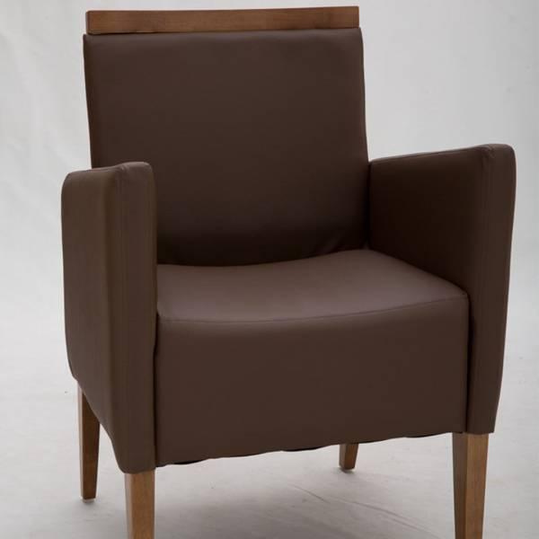 Cadeira com Braço Prime III Estrutura Madeira Maciça Design by Studio Artesian