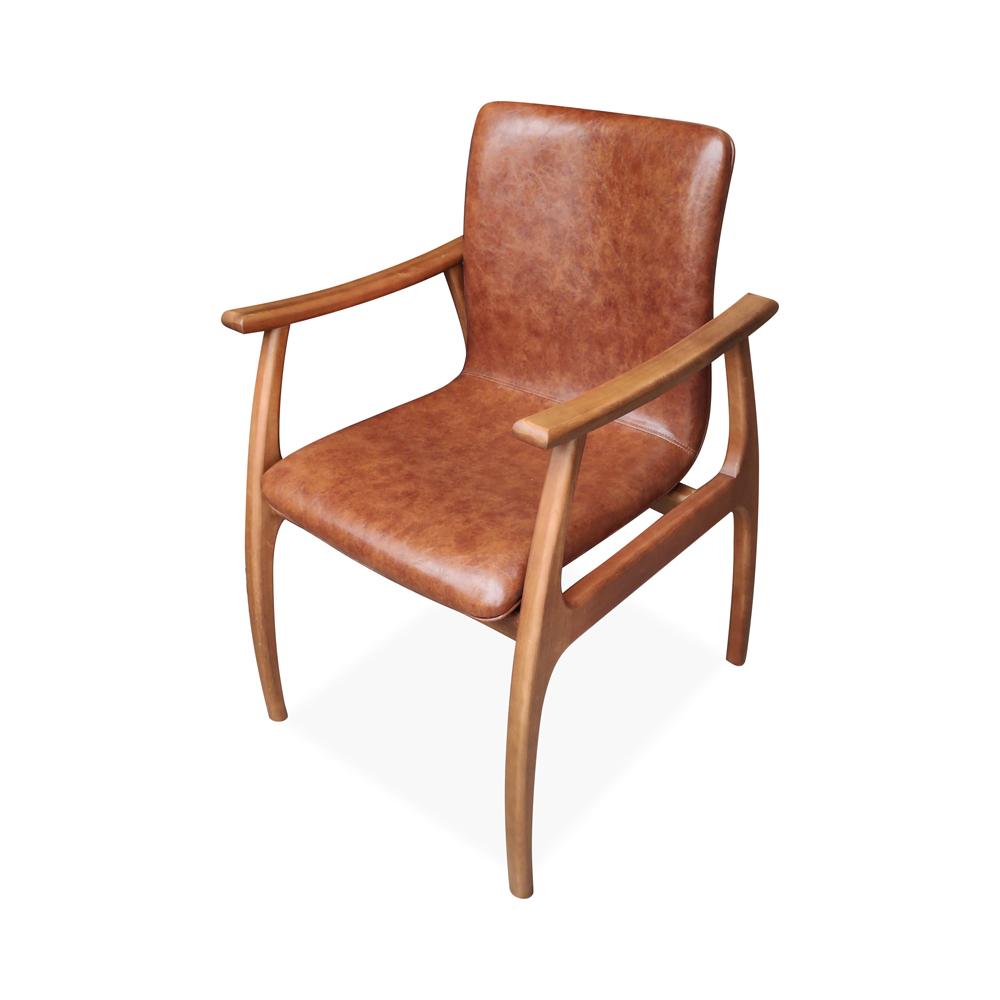 Cadeira Dafne Estofado Anatômico Design Contemporâneo Design by Estúdio Casa A