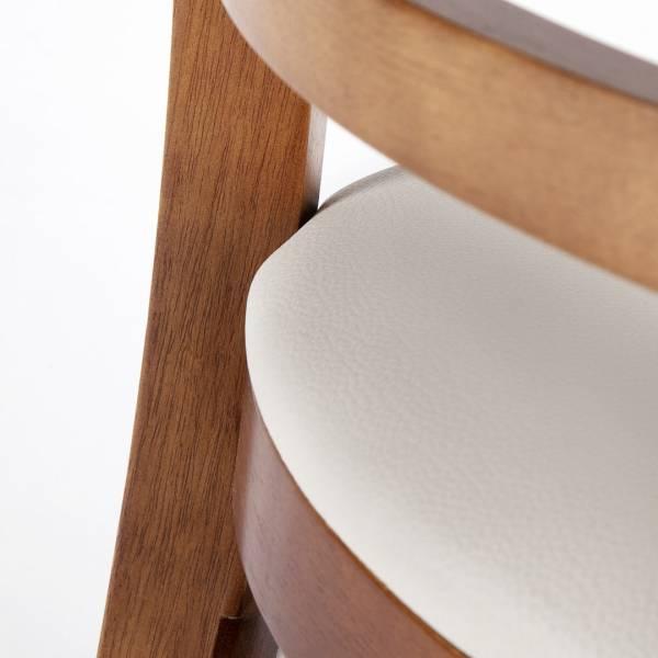 Cadeira Eco Reta Estrutura Madeira Maciça Design by Studio Artesian