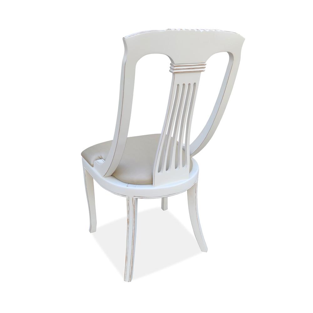 Cadeira Espanhola Madeira Maciça Design de Luxo Peça Artesanal
