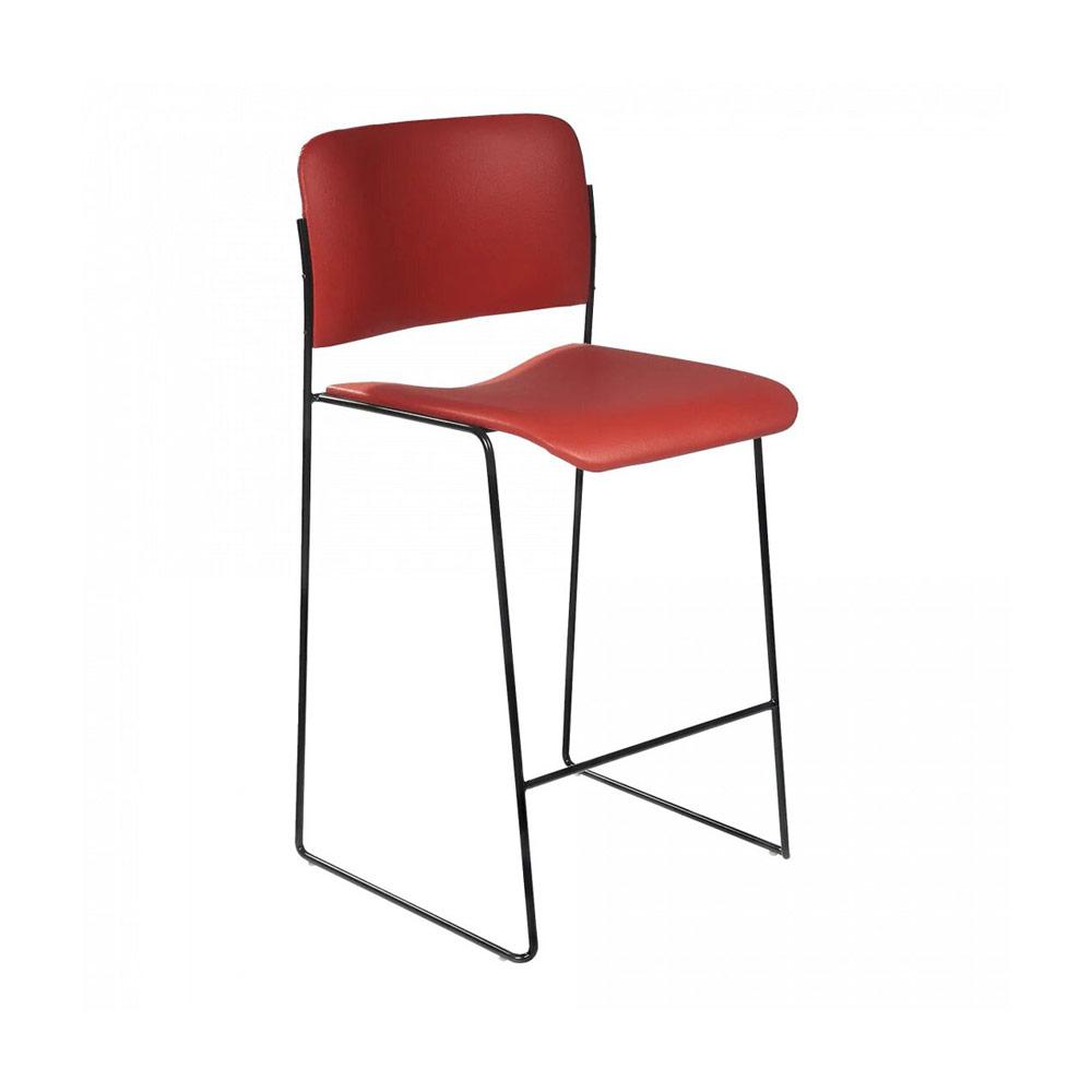 Cadeira Hani Bar Inox Design Studio Clássica