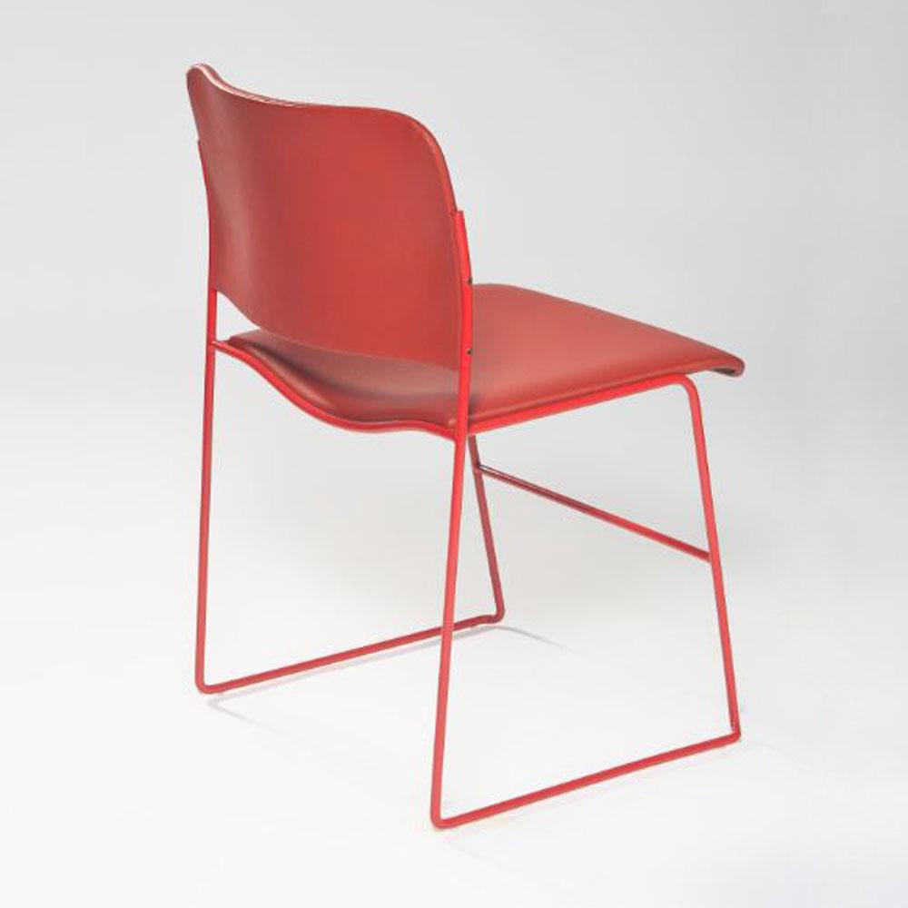 Cadeira Hani Base em Aço Design by Studio Clássica