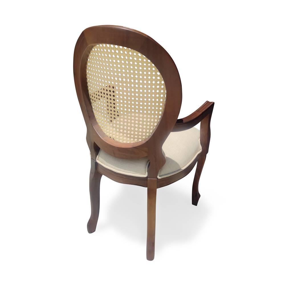 Cadeira Imperial com Braço com Palhinha