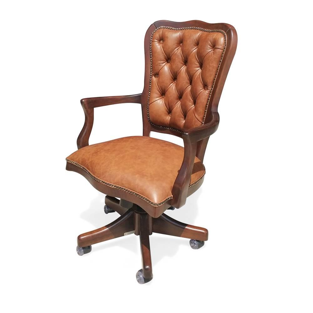 cadeira inglesa giratória capitone ajuste altura relax