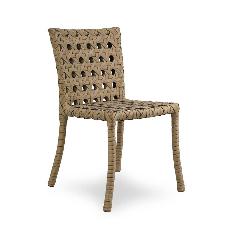 Cadeira Java para Área Externa Fibra Sintética Estrutura Alumínio Eco Friendly Design Scaburi