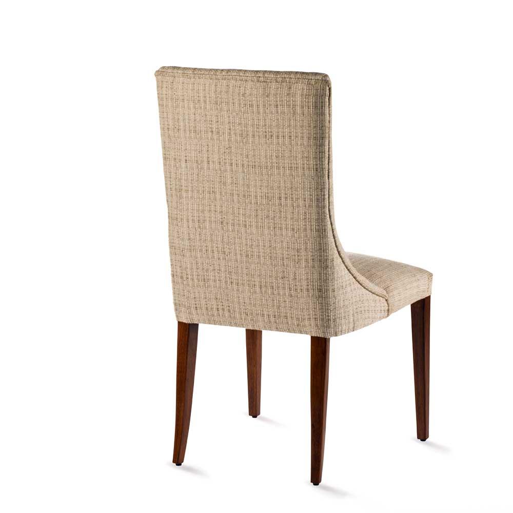 Cadeira Luce Madeira Maciça Design Clássico Avi Móveis