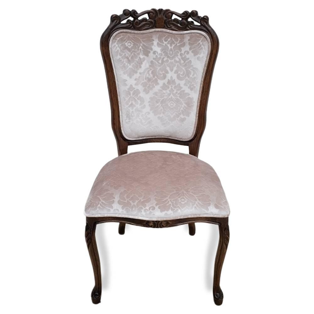 Cadeira Luiz XV Entalhada Imbuia