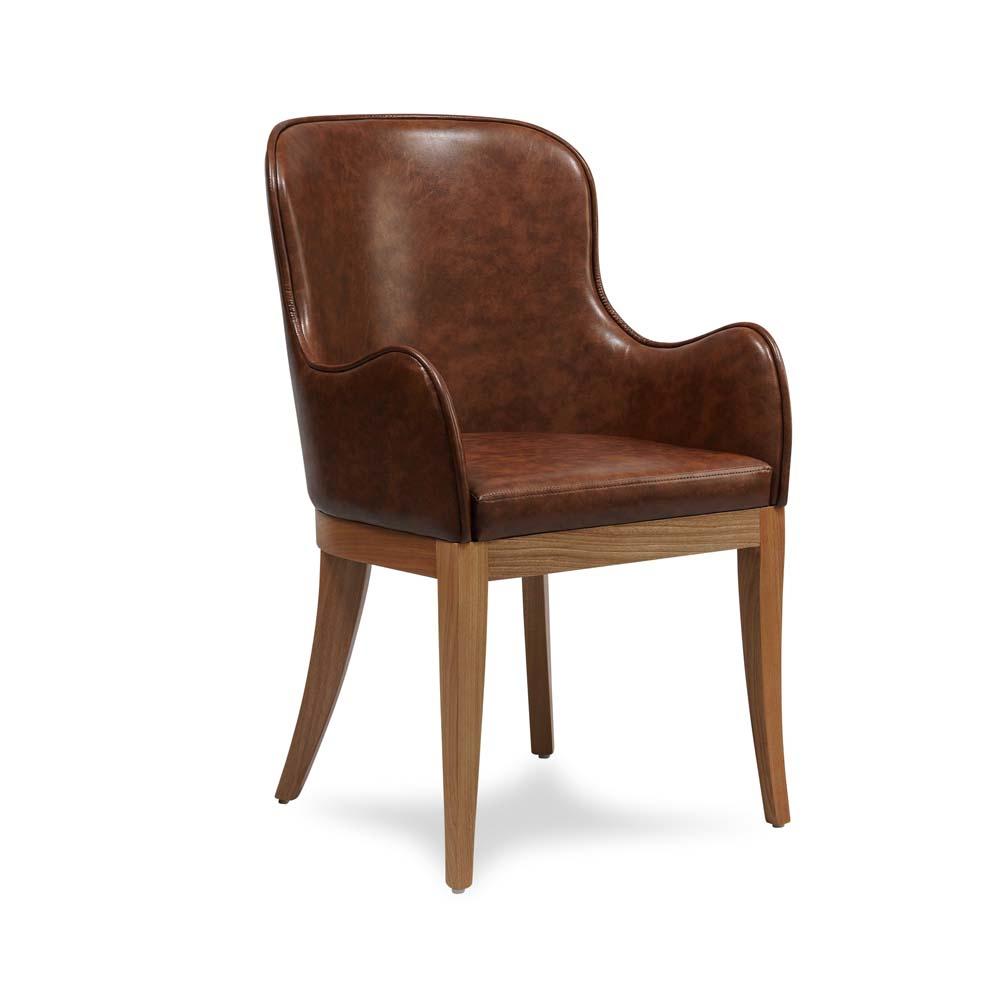 Cadeira Mast com Braço Estrutura Madeira Pés em Jequtibá Eco Friendly Design Scaburi