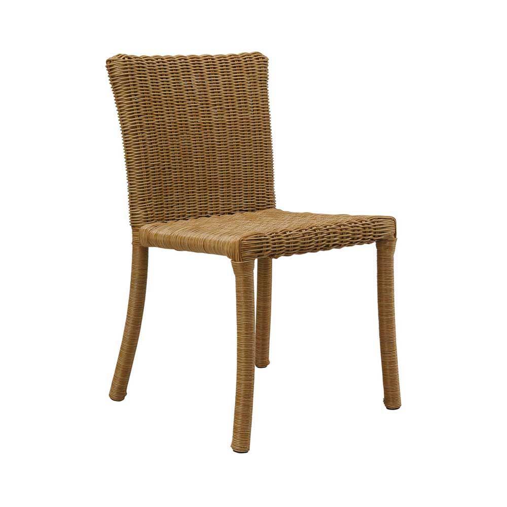 Cadeira Ocean para Área Externa Fibra Sintética Estrutura Alumínio Eco Friendly Design Scaburi