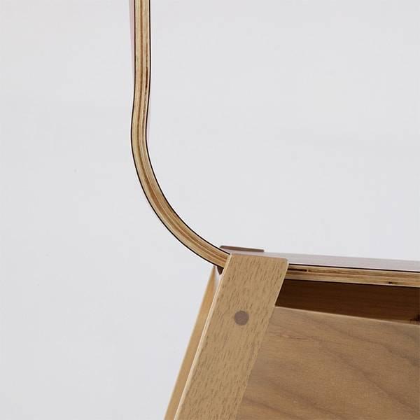 Cadeira Olsen Estrutura Madeira Maciça Design by Studio Artesian