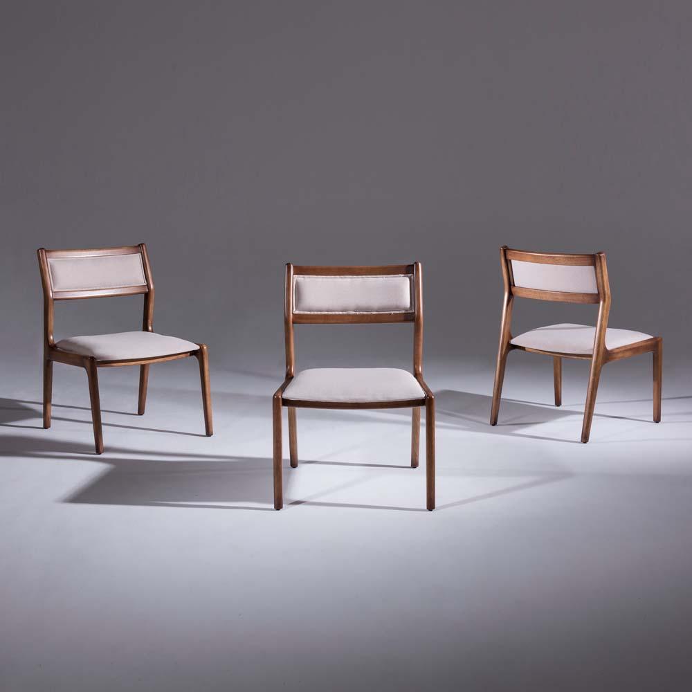 Cadeira Passione Madeira Maciça Design Clássico Avi Móveis