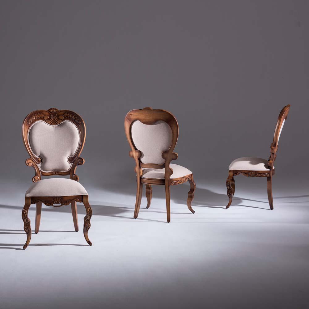 Cadeira Premier Madeira Maciça Design Clássico Avi Móveis