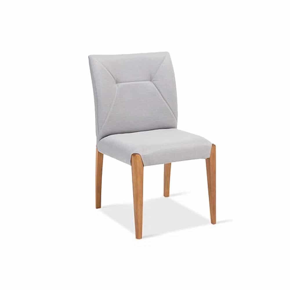 Cadeira Stella Estrutura Madeira Design Atemporal e Moderno Casa A Móveis