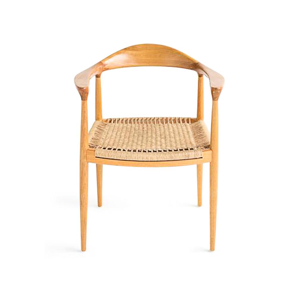 Cadeira The Chair em Fibra Design Hans J. Wegner