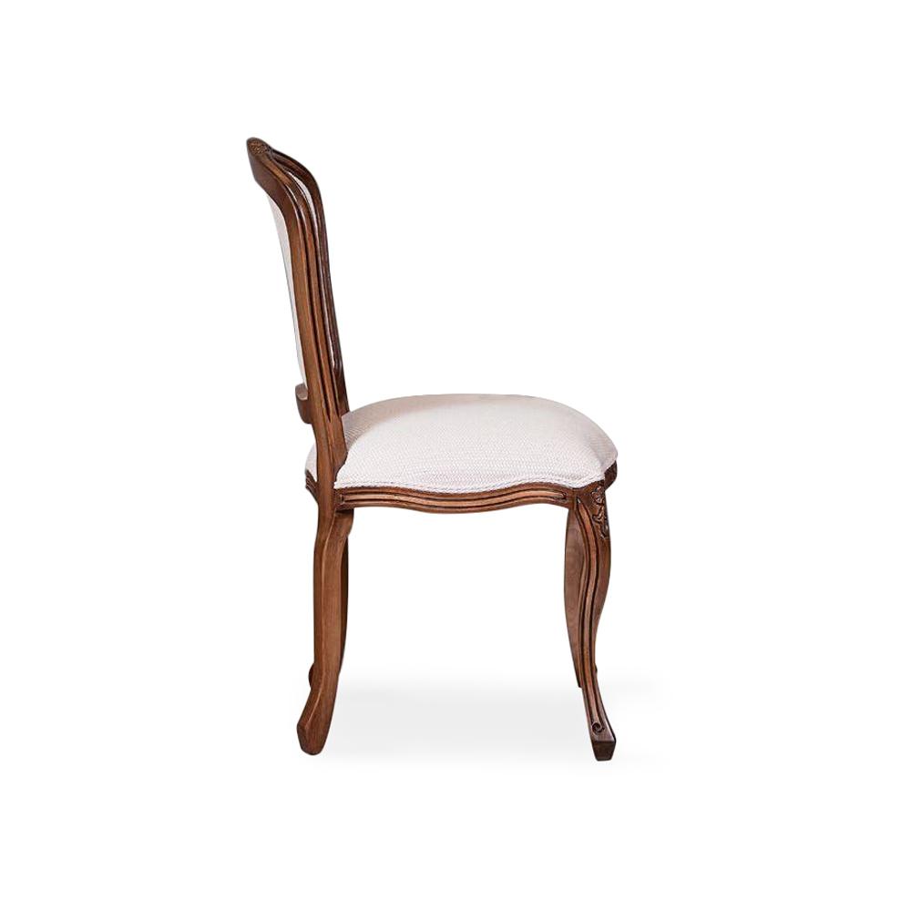 Cadeira Tommy Madeira Maciça Design Clássico Avi Móveis