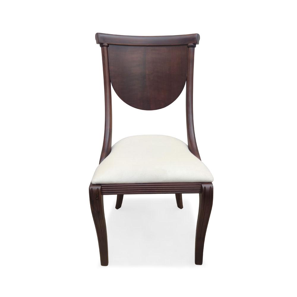 Cadeira Viena em Madeira Maciça com Pinturas e Tecidos Personalizáveis