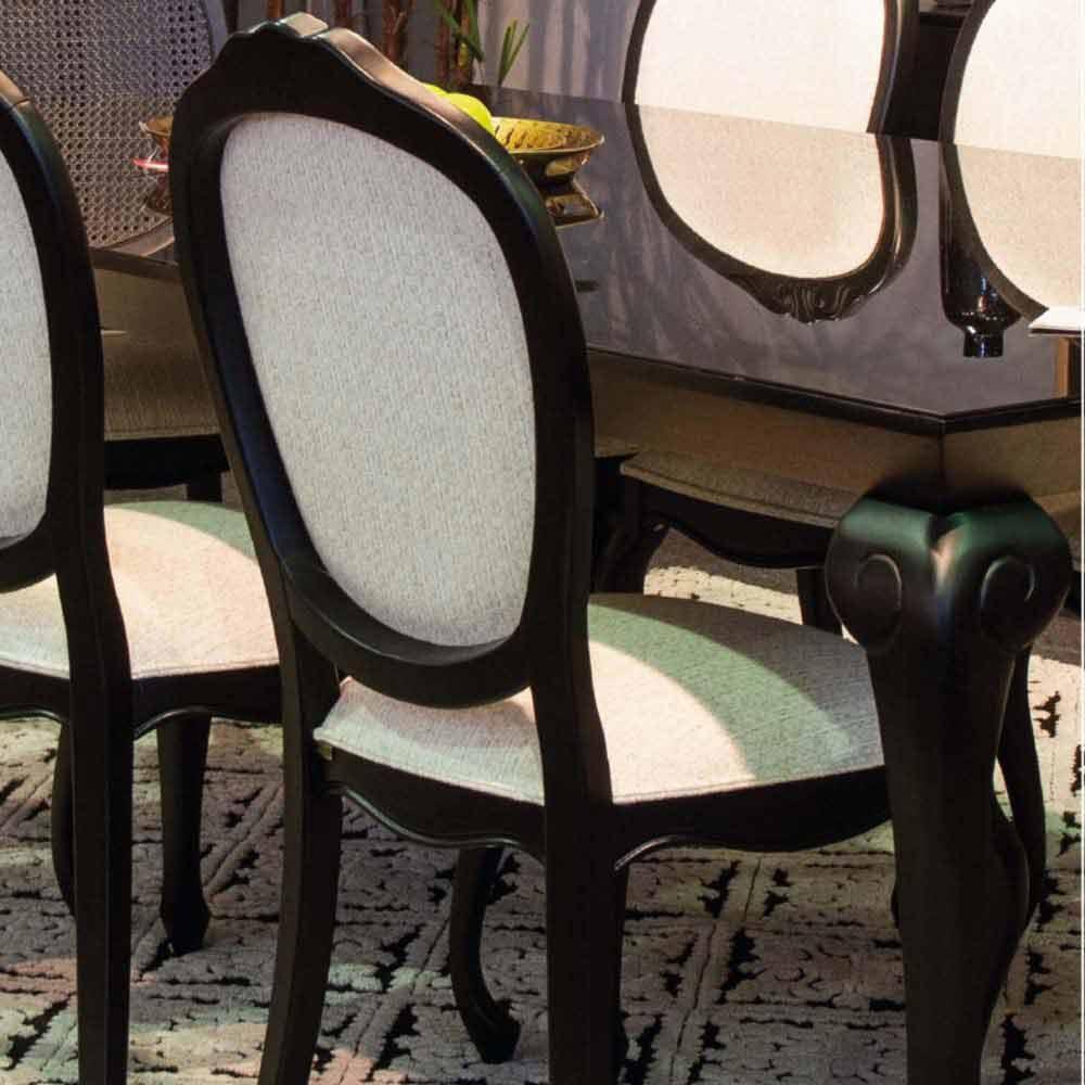 Cadeira Montana Jequitibá Encosto de Telinha ou Tecido Móveis Armil