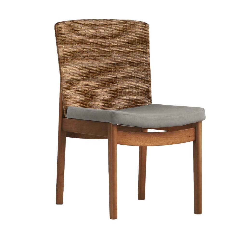 Cadeira Sofia - Tecido Cinza