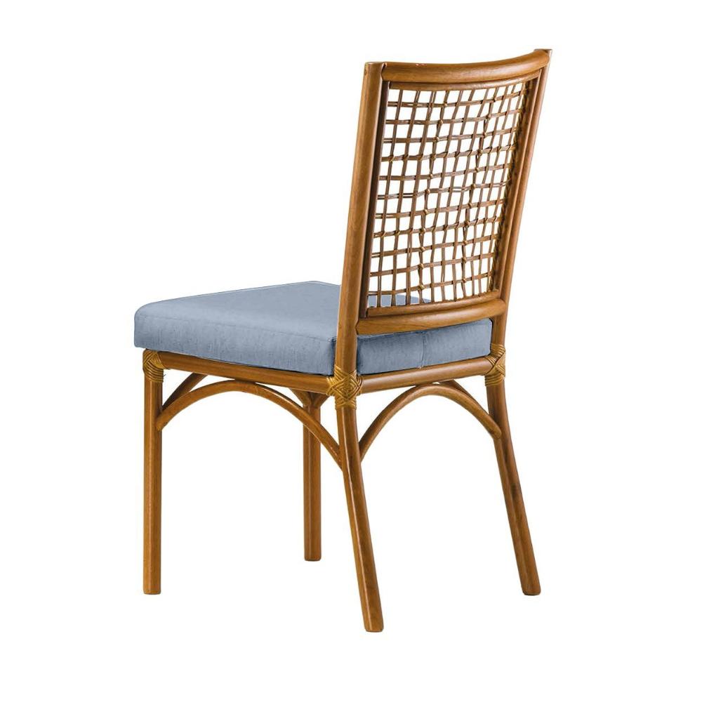 Cadeira Turati - Tecido Azul
