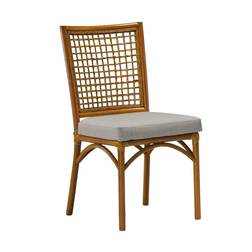 Cadeira Turati - Tecido Cinza