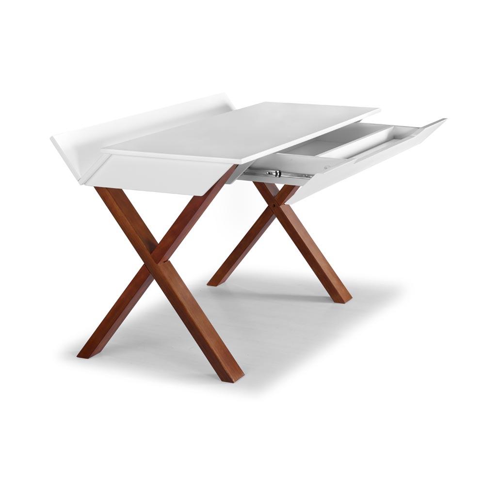 Escrivaninha Stúdio Design Moderno e Prático Máxima Móveis