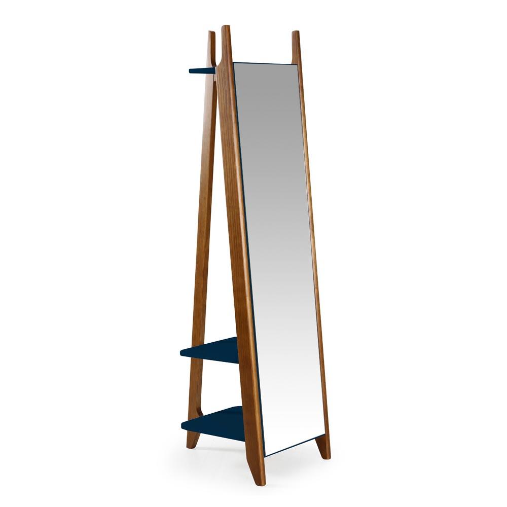 Espelho Stoka com 2 Prateleiras Máxima Móveis Design by Designo Design