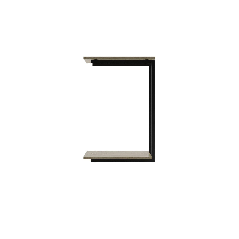 Mesa de Apoio Iron - Artesanal / Preto Fosco