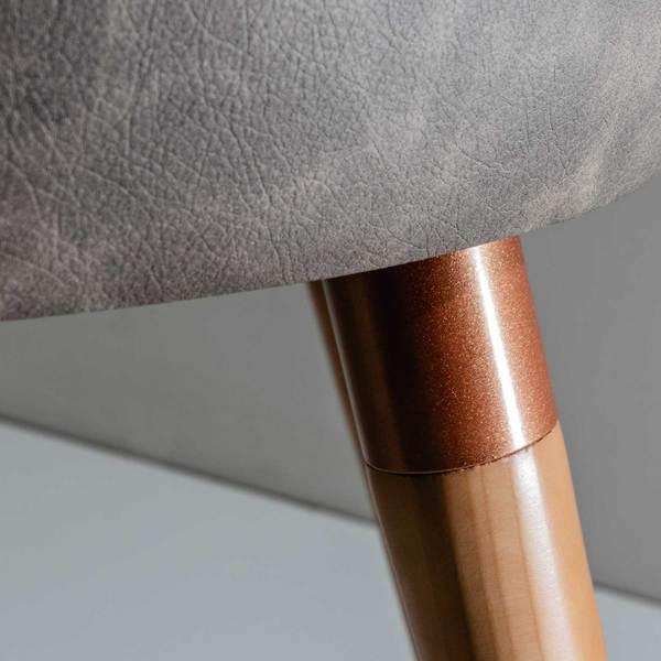 Cadeira Martha Linho c/ PU