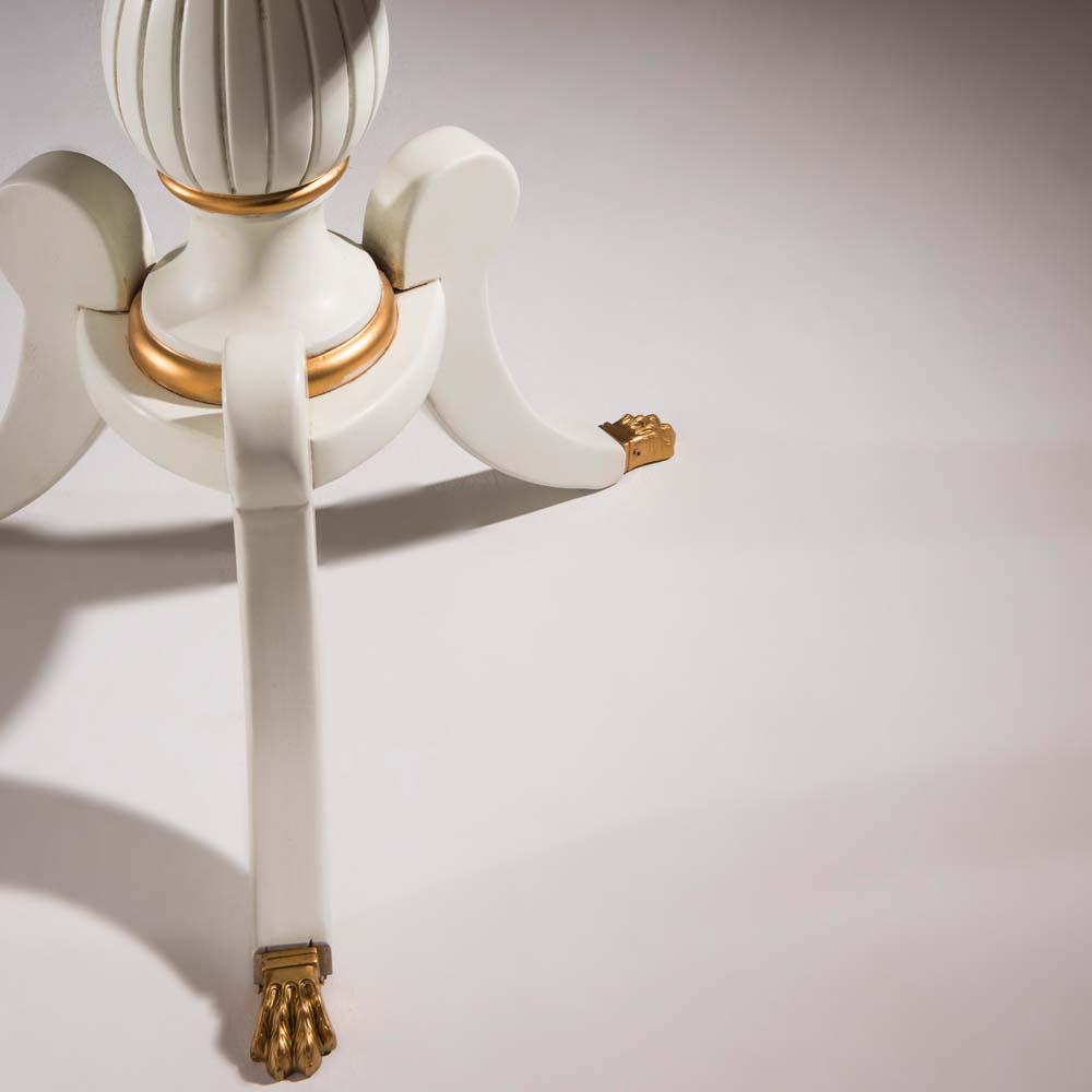 Mesa de Apoio Bella Decorativa Madeira Maciça Design Clássico Avi Móveis