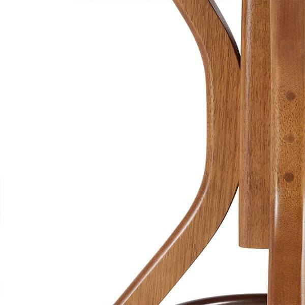 Mesa de Jantar Carpenter Redonda Estrutura Madeira Maciça Design by Studio Artesian
