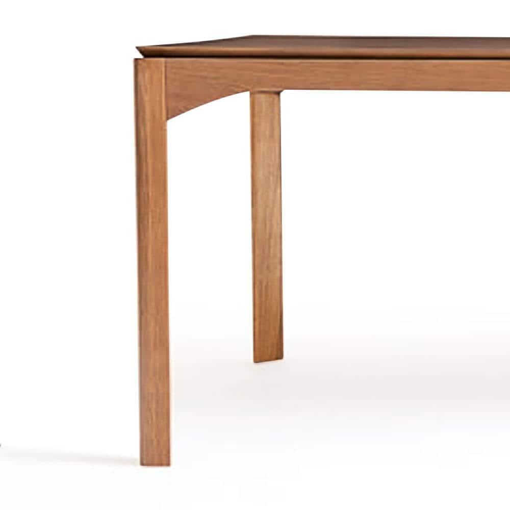 Mesa de Jantar Eron Tampo Laminado Cinamomo Design Atemporal e Moderno Design by Estúdio Casa A