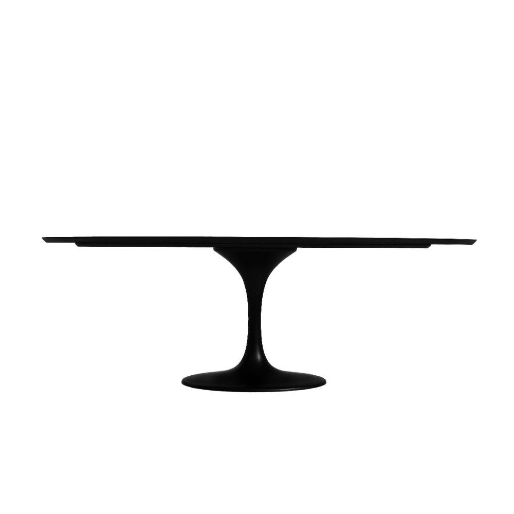 Mesa de Jantar Saarinen Oval Base Alumínio Tremarin Design by Studio Marko20