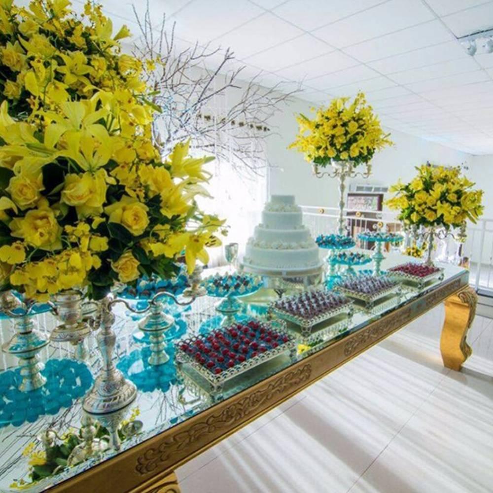 Mesa Imperial em Madeira Maciça com 4 metros e acabamentos personalizados