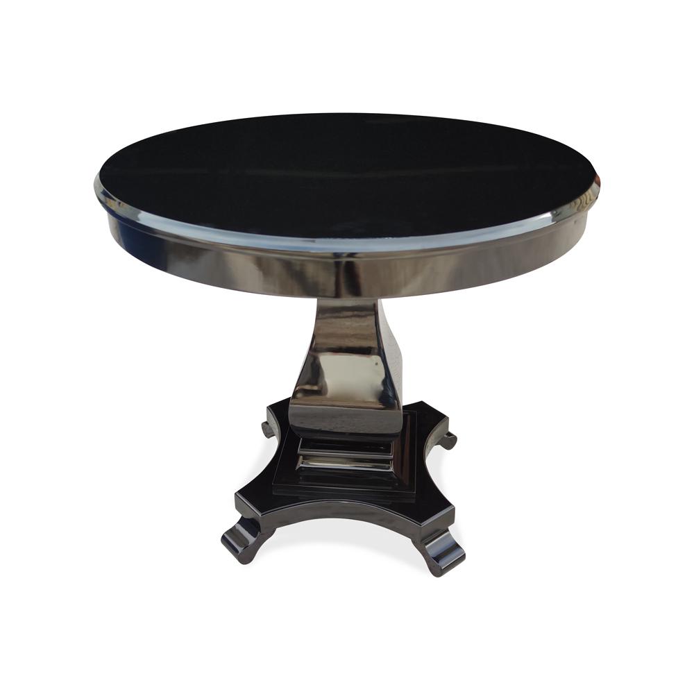 Mesa Lateral Tilla Personalizado Madeira Maciça Design Clássico