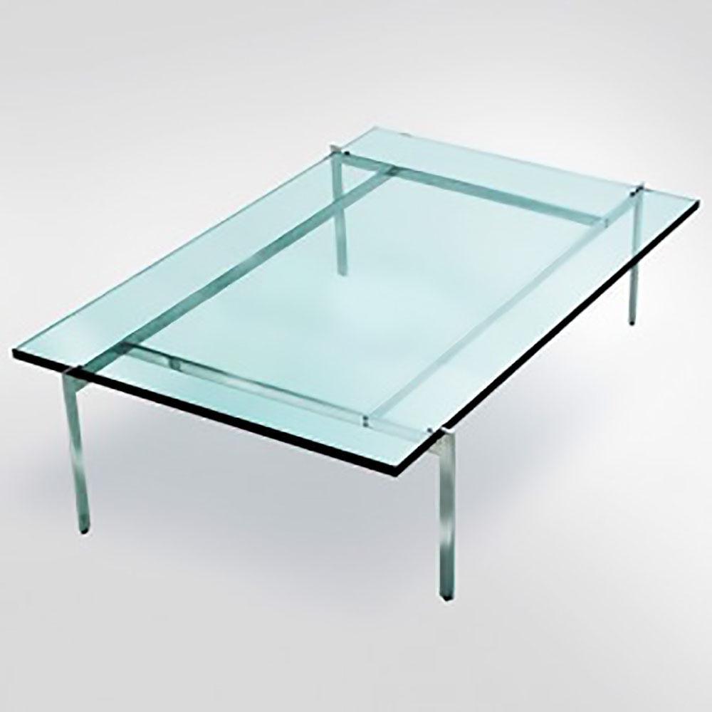 Mesa de Centro Quadrada PK61 Design by Poul Kjaerholm